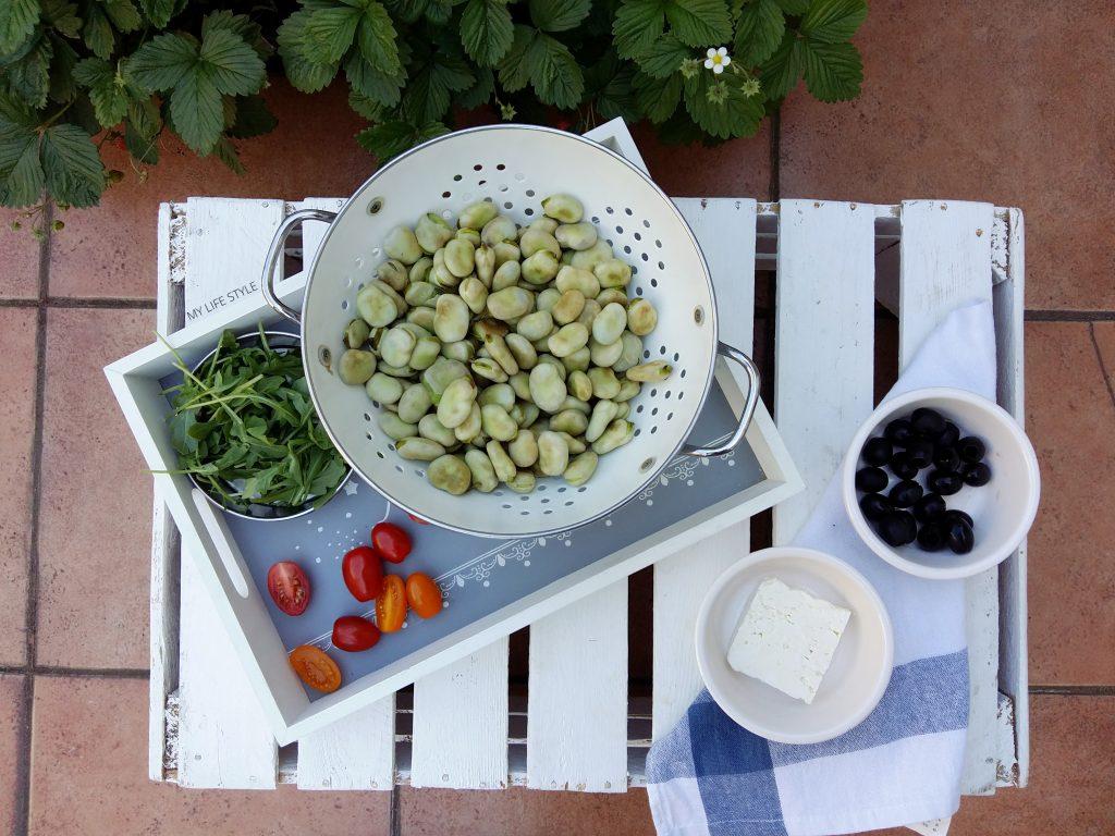 Letnia sałatka z bobem
