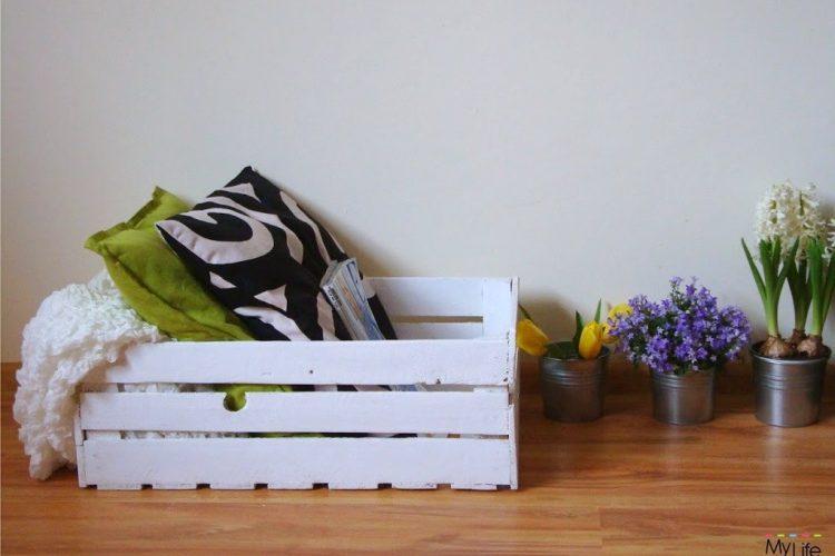 DIY – Drewniana skrzynia