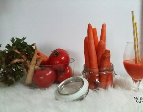 Pomidor, rukola i biały ser – lepszego śniadania nie ma!