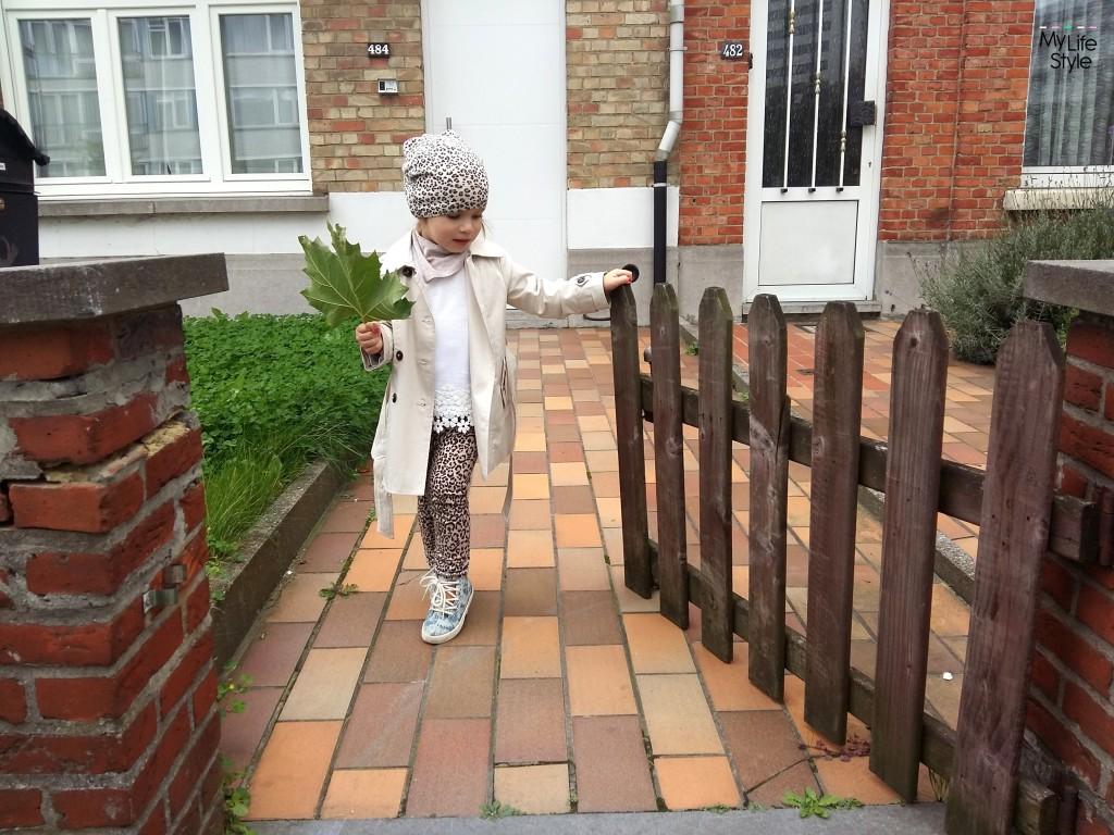 Stylizacja dla małej dziewczynki