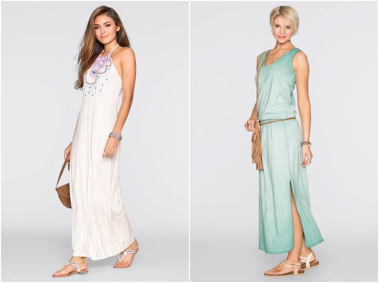 ce6a8c55ab70 Najpiękniejsze długie sukienki w sam raz na lato