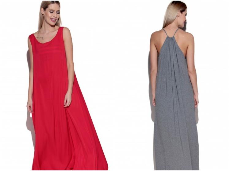 Najpiękniejsze długie sukienki w sam raz na lato