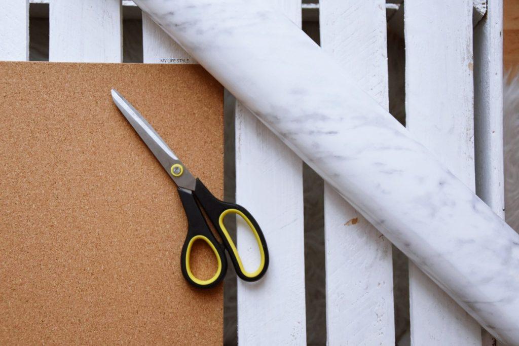 DIY - Marmurkowe tło do zdjęć
