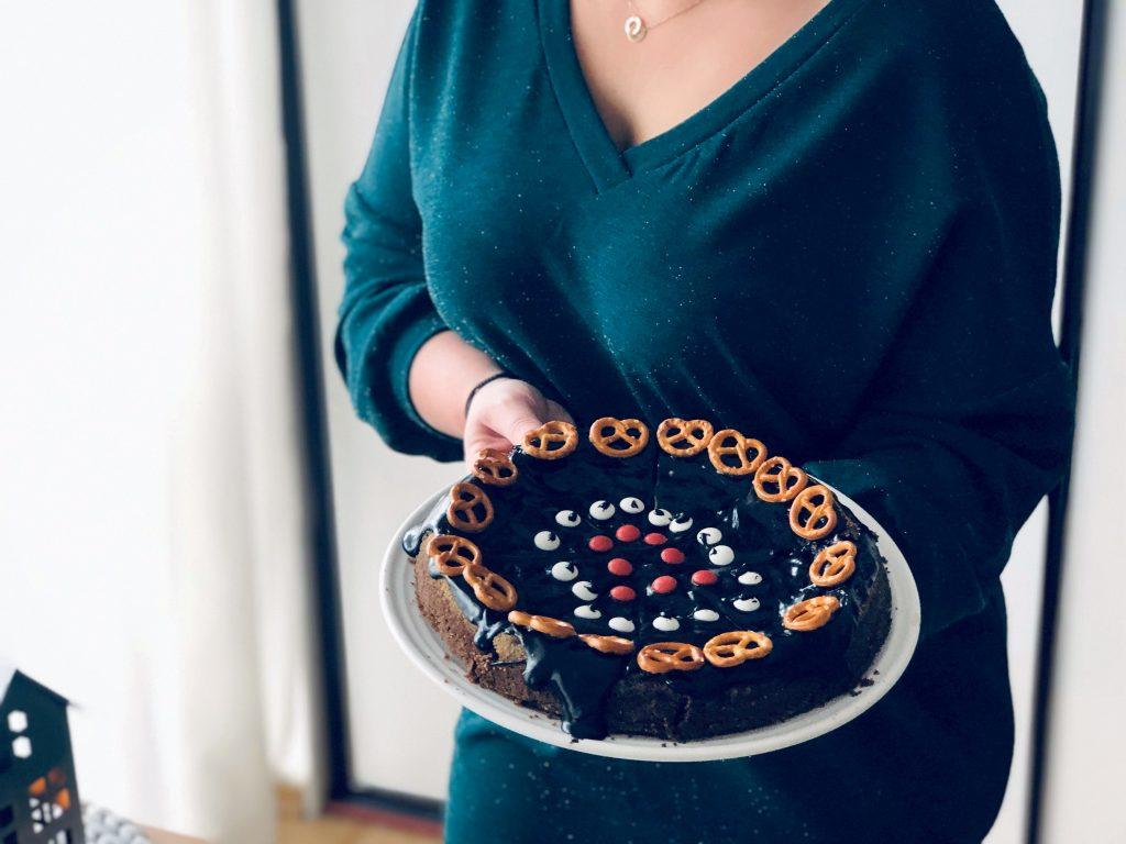 Piernikowy torcik z czekoladą