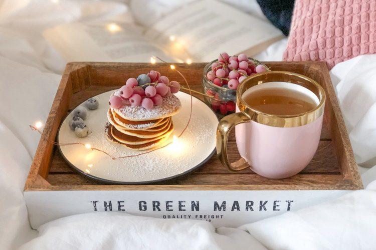 Niedzielne śniadania: placuszki jogurtowo-budyniowe