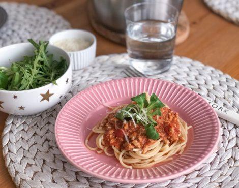 Co na obiad? Może spaghetti bolognese?