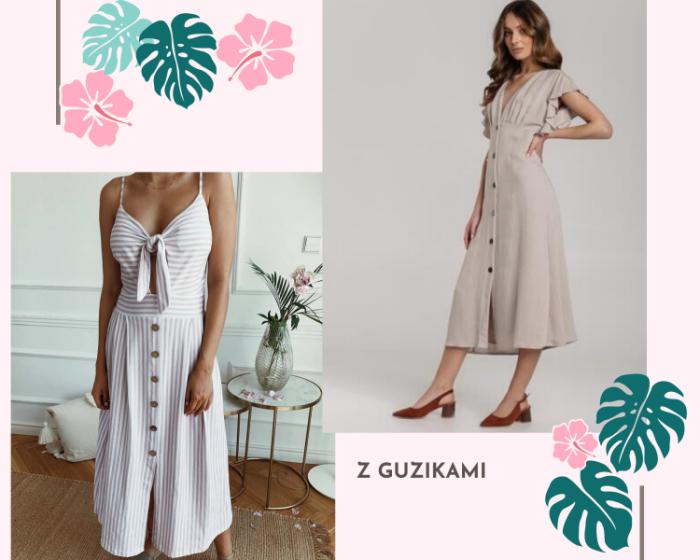Sukienki z guzikami